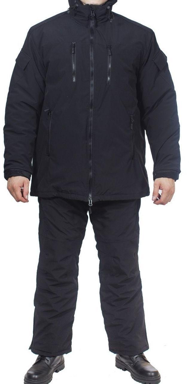 Костюм всесезонный МПА-38 (ткань курточная-мембрана) черный