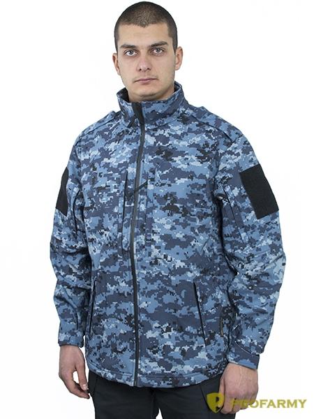 Куртка Mistral XPS19 Softshell цифра МВД, Куртки из Softshell и Windbloc - арт. 1067210329