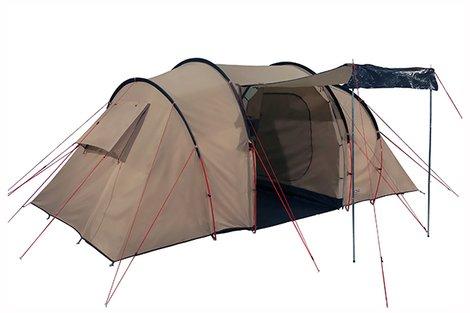 Купить Палатка Tauris 4 коричневый, 440х220/240х180/170 см, 11499, High Peak