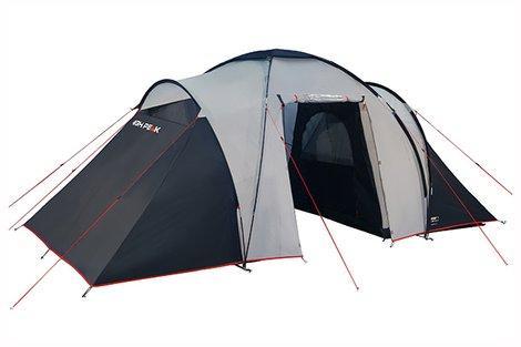 Палатка Como 6 светло-серый/тёмно-серый, 560х230см, 10236