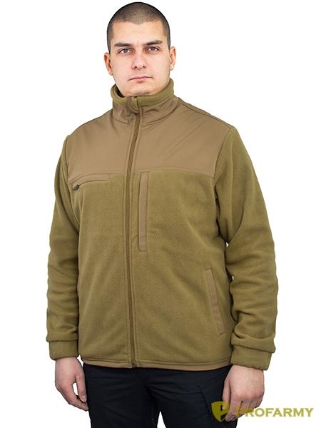 Куртка HUSKY-3 2LPF260 coyote brown, Куртки из Polartec и флиса - арт. 1052280330