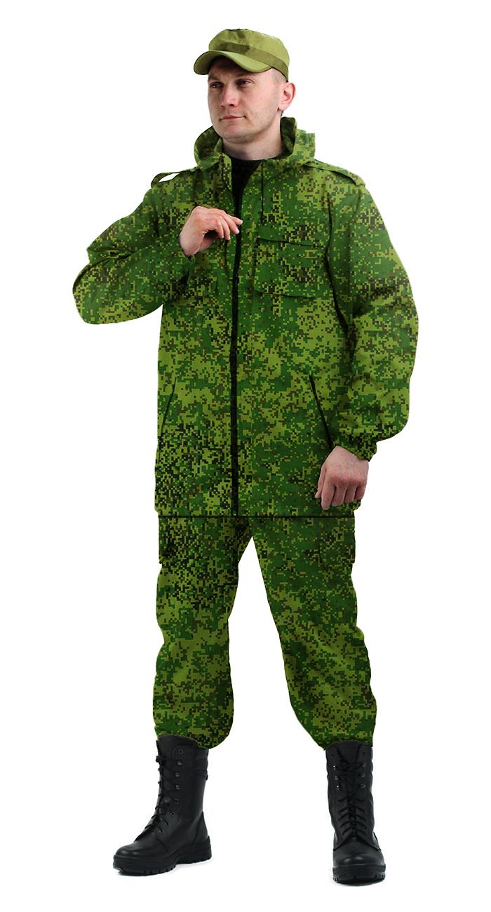 Костюм мужской Турист 2 летний, камуфляж Твилл Пич Пиксель, Летние костюмы - арт. 1031060260