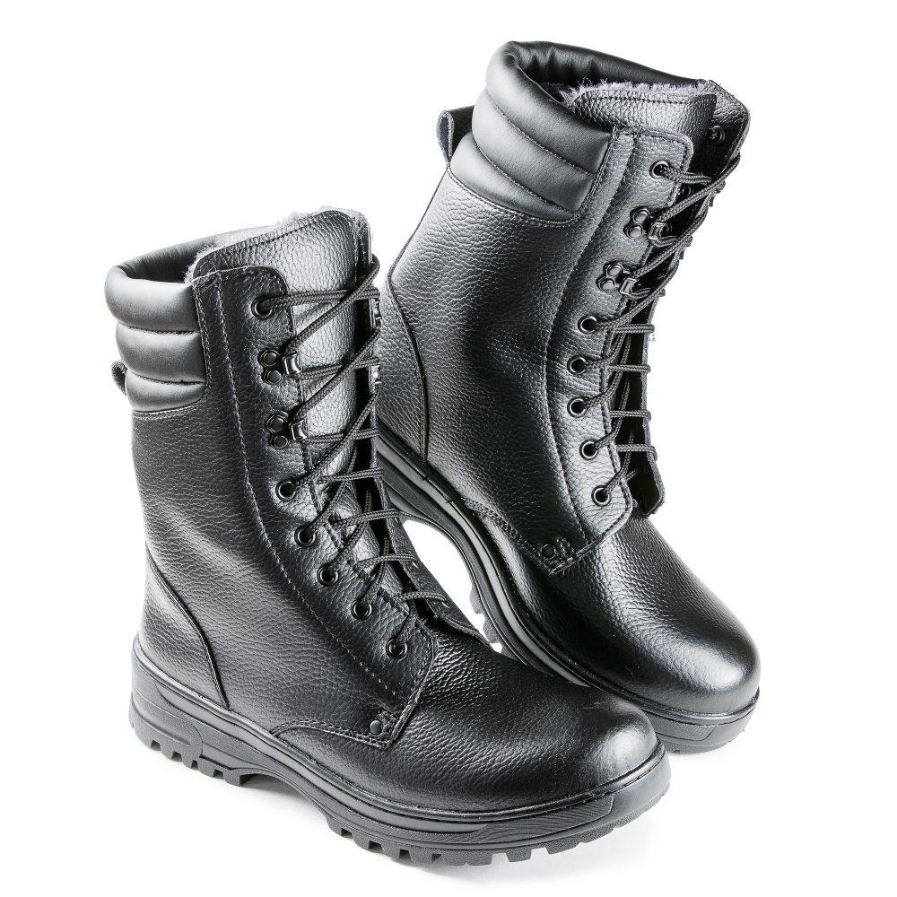Ботинки с высокими берцами мужские модель 65, Ботинки с высокими берцами - арт. 1069600245