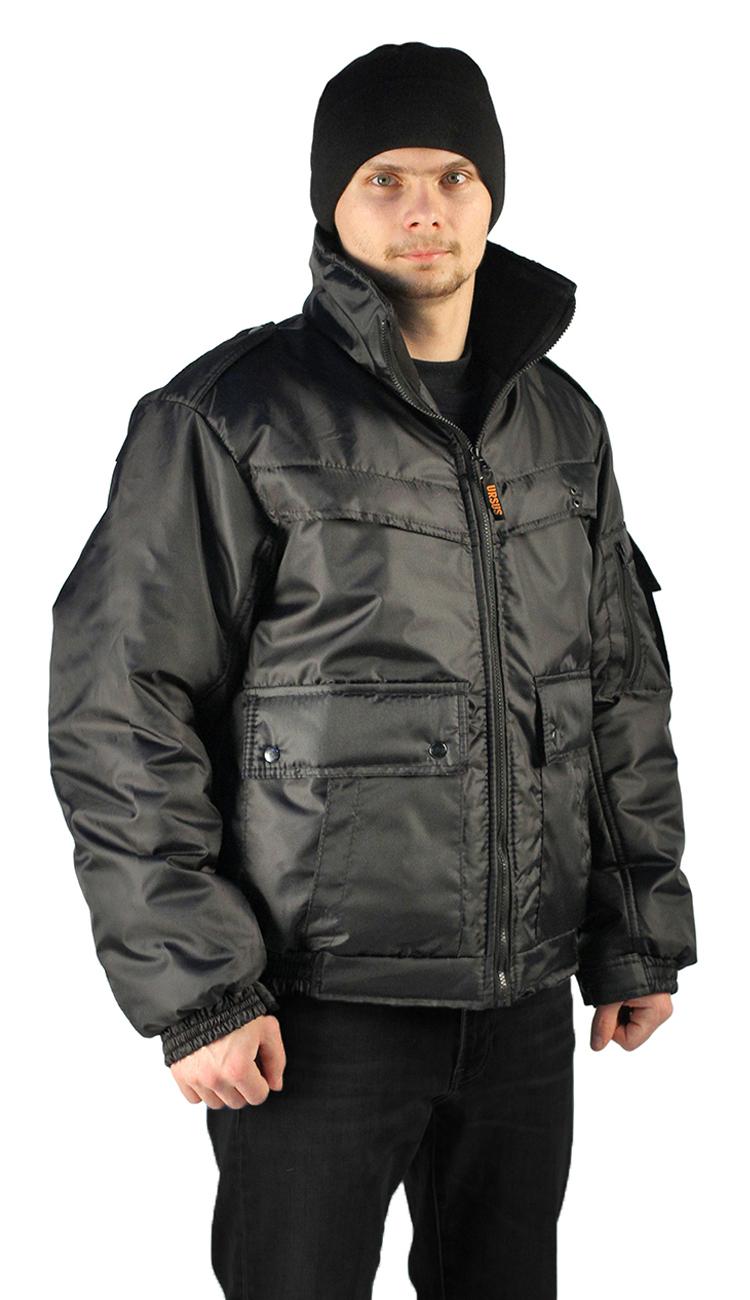 Купить Куртка демисезонная КОНТРОЛ цвет: черный, ткань: оксфорд, Ursus