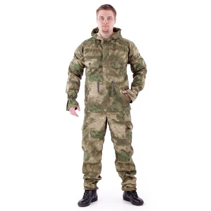 Костюм Снайпер-2 анорак рип-стоп с налокотниками и наколенниками A-Tacs FG, Куртки - арт. 983240156