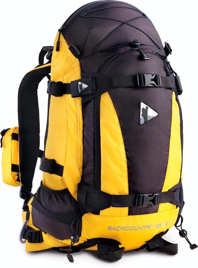 Рюкзак BASK BACK COUNTRY 35 V2 желтый/черный, Рюкзаки для горных лыж и сноуборда - арт. 303350286