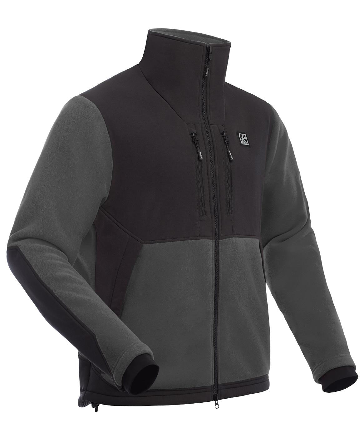 Куртка мужская Polartec BASK GUIDE темно-серая, Куртки из Polartec и флиса - арт. 1066480330
