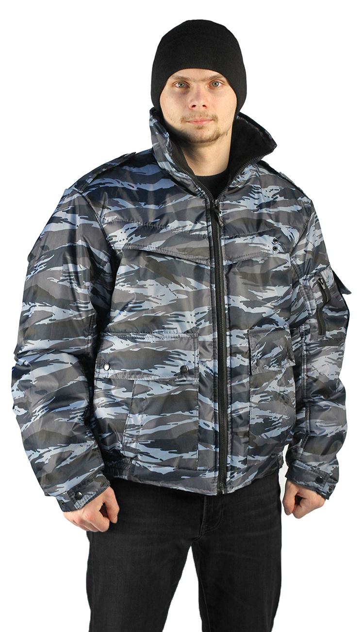 Купить Куртка демисезонная КОНТРОЛ цвет:, камуфляж Вихрь серый, ткань : Оксфорд, Ursus