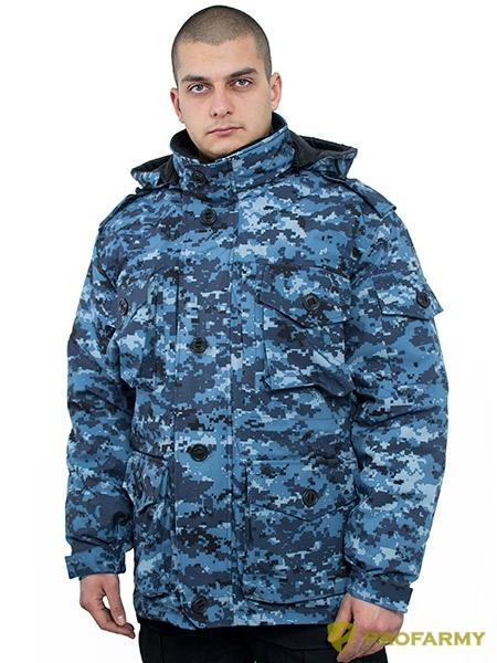 Куртка Смок-3 мембрана цифра МВД, Тактические куртки - арт. 865630335