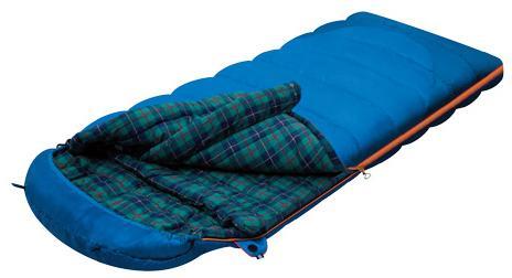 Мешок спальный TUNDRA Plus синий, правый, Трехсезонные (Весна/Осень) спальники - арт. 264080371