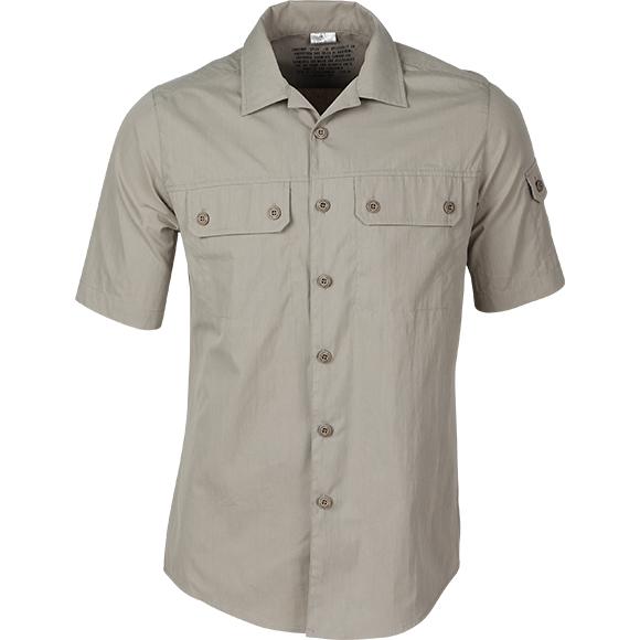 Рубашка М05 серо-бежевая - артикул: 807870266