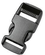 Пряжка фастекс 20 мм 1-05205/1-05206 (2 части) одна регулировка оливковый Duraflex