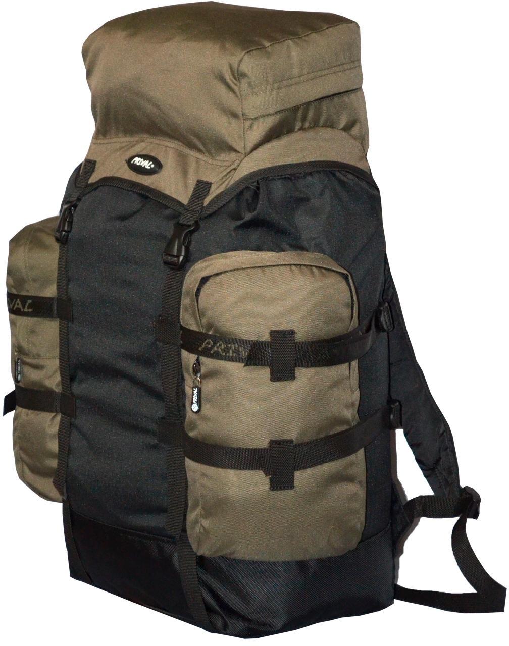 Рюкзак Кузьмич 70л. цвет хаки/черный, Рюкзаки для горных лыж и сноуборда - арт. 404880286