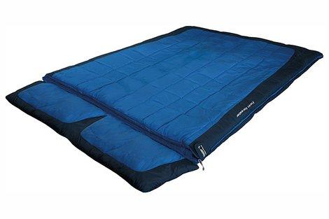 Мешок спальный Twin Forester синий/тёмно-синий, 21245, Трехсезонные (Весна/Осень) спальники - арт. 617750371