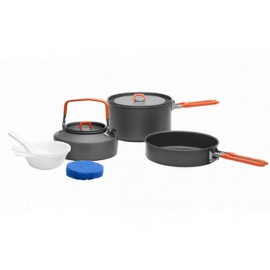 Набор портативной посуды FEAST 2 из анодированного алюминия на 2-3 персоны, 1401102, Посуда - арт. 1016770196