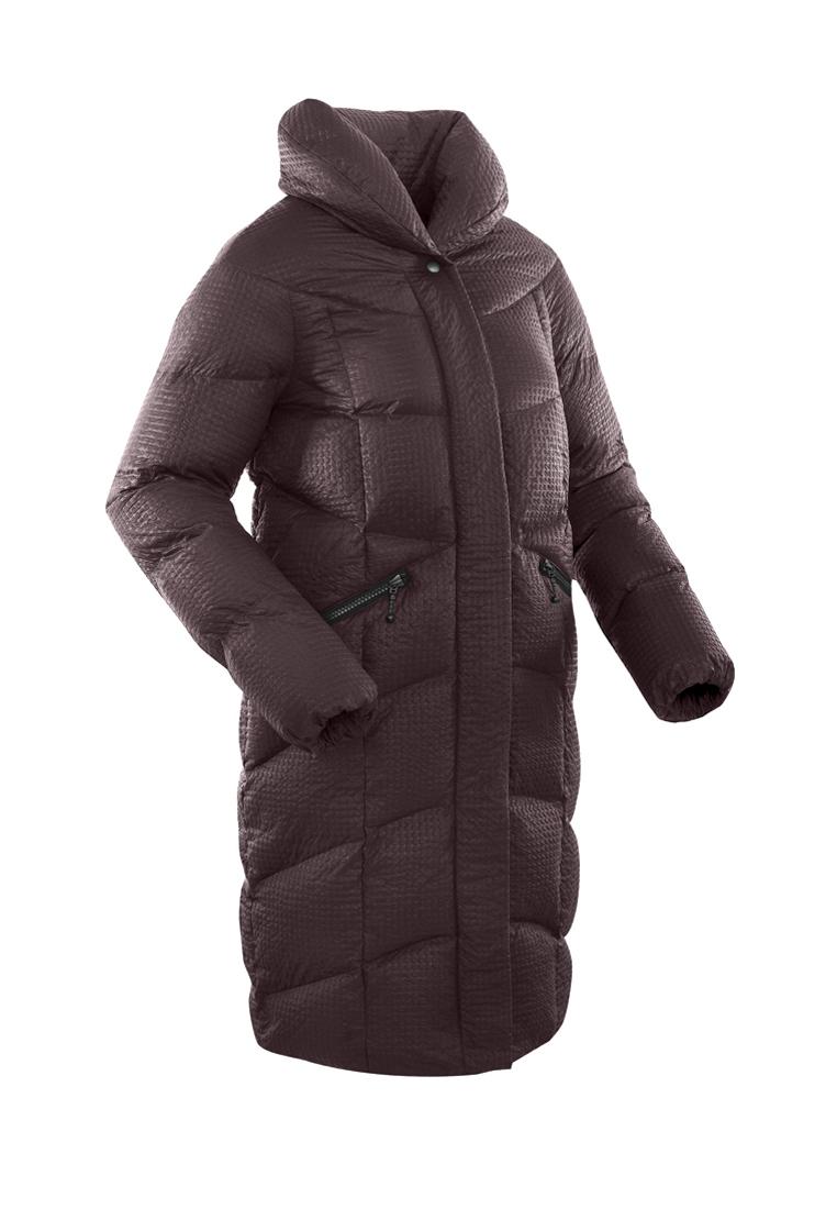 Пальто пуховое женское BASK LUNA бордовое, Пальто - арт. 1068260409