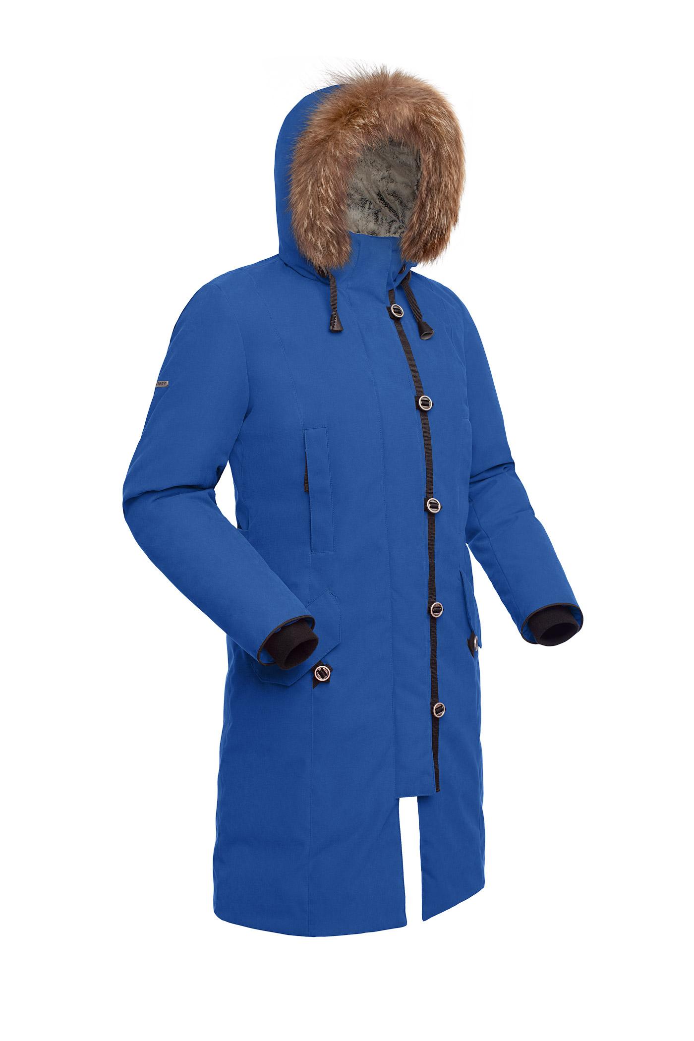 Пальто пуховое женское BASK HATANGA V2 синий royal, Пальто - арт. 971280409