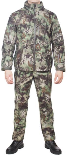 Костюм влагозащ МПА-25 (курточная мембрана) питон лес