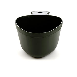 Кружка-миска KASA ARMY BLACK, 10071