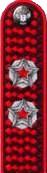 Погоны Роспотребнадзор действительный государственный советник РФ 2 класса на китель повседневные