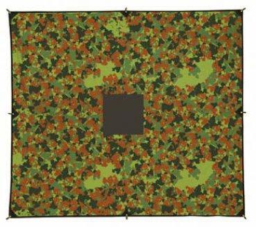 Тент Mark 1.72T 33 flecktarn, 3x3m, 7172.3321, Тенты - арт. 370840224