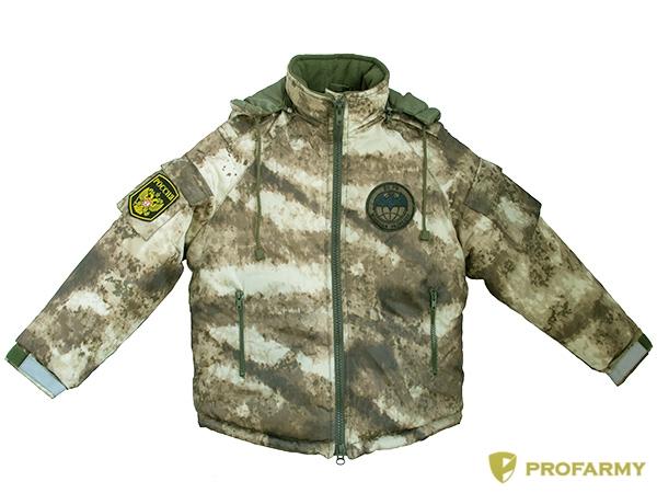 Куртка зимняя детская Воин DPO-11 оксфорд песок, Куртки - арт. 1112110156