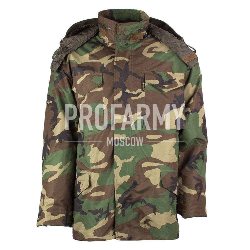Куртка М-65 в комплекте нейлон Woodland, Тактические куртки - арт. 899690335