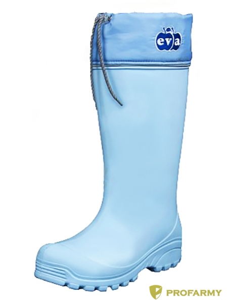 Сапоги женские Аврора (голубой) 1314, Сапоги - арт. 909800175