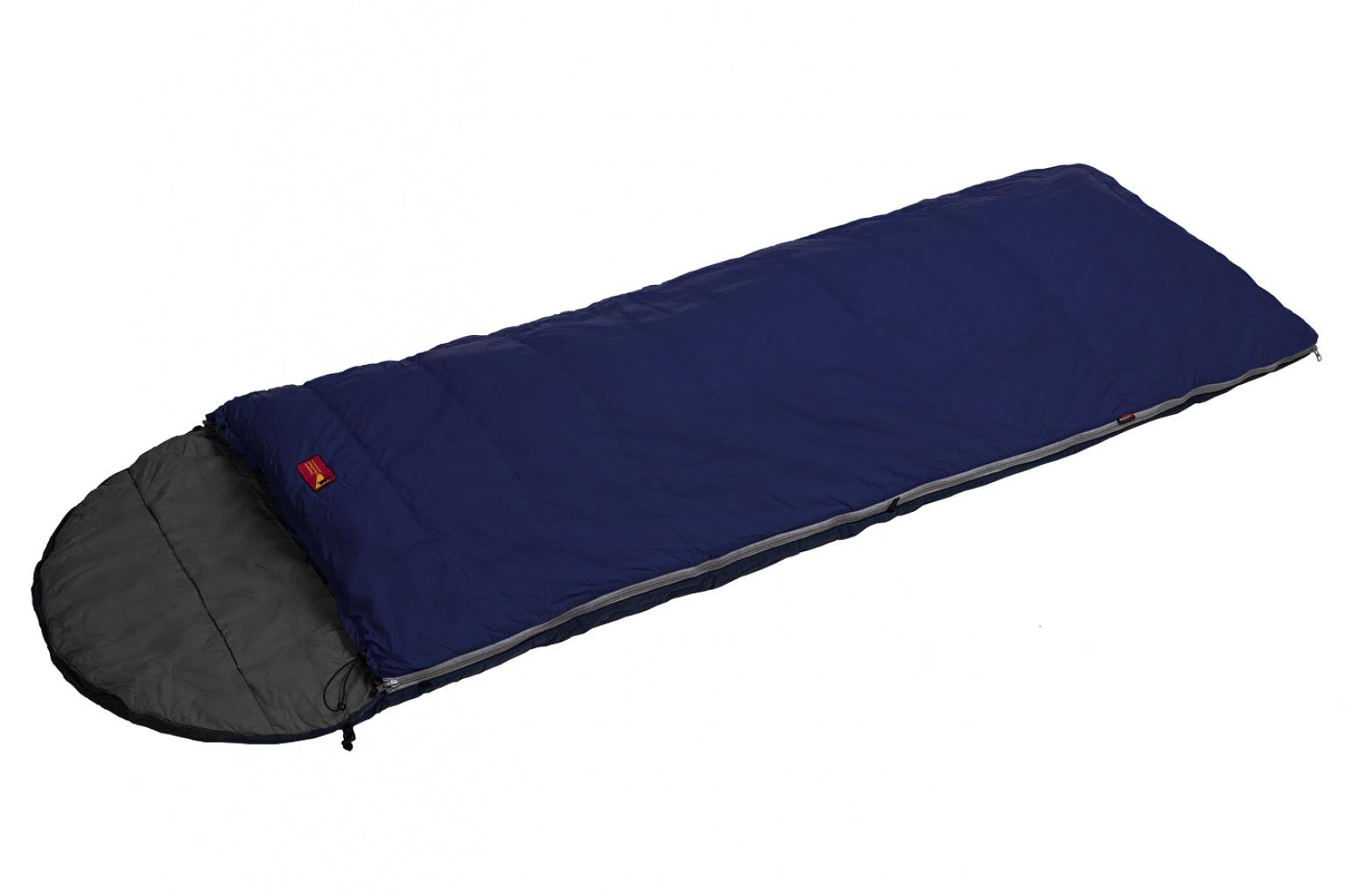Спальный мешок BASK MILD UNIVERSAL -24 синий тмн/серый тмн, Экстремальные (Зима) спальники - арт. 971390370