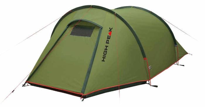 Палатка Kite 3 зеленый/красный, 180х340х105 см, 10189, Палатки трехместные - арт. 1039500321