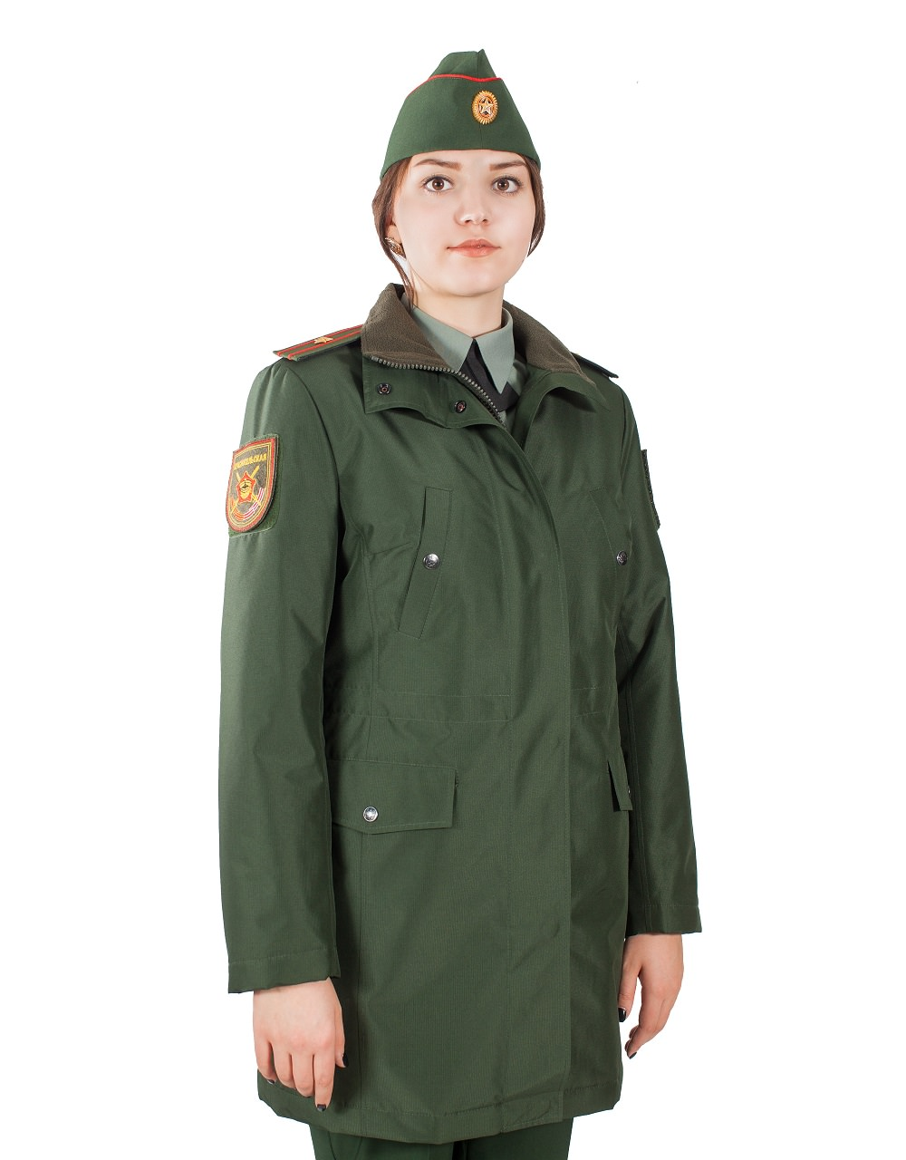 Куртка женская демисезонная МПА-59 (зеленый/рип-стоп) - артикул: 562130331