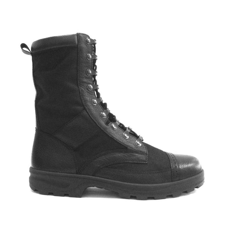 Ботинки с высокими берцами уставные облегченные «БОЕЦ» модель 04016