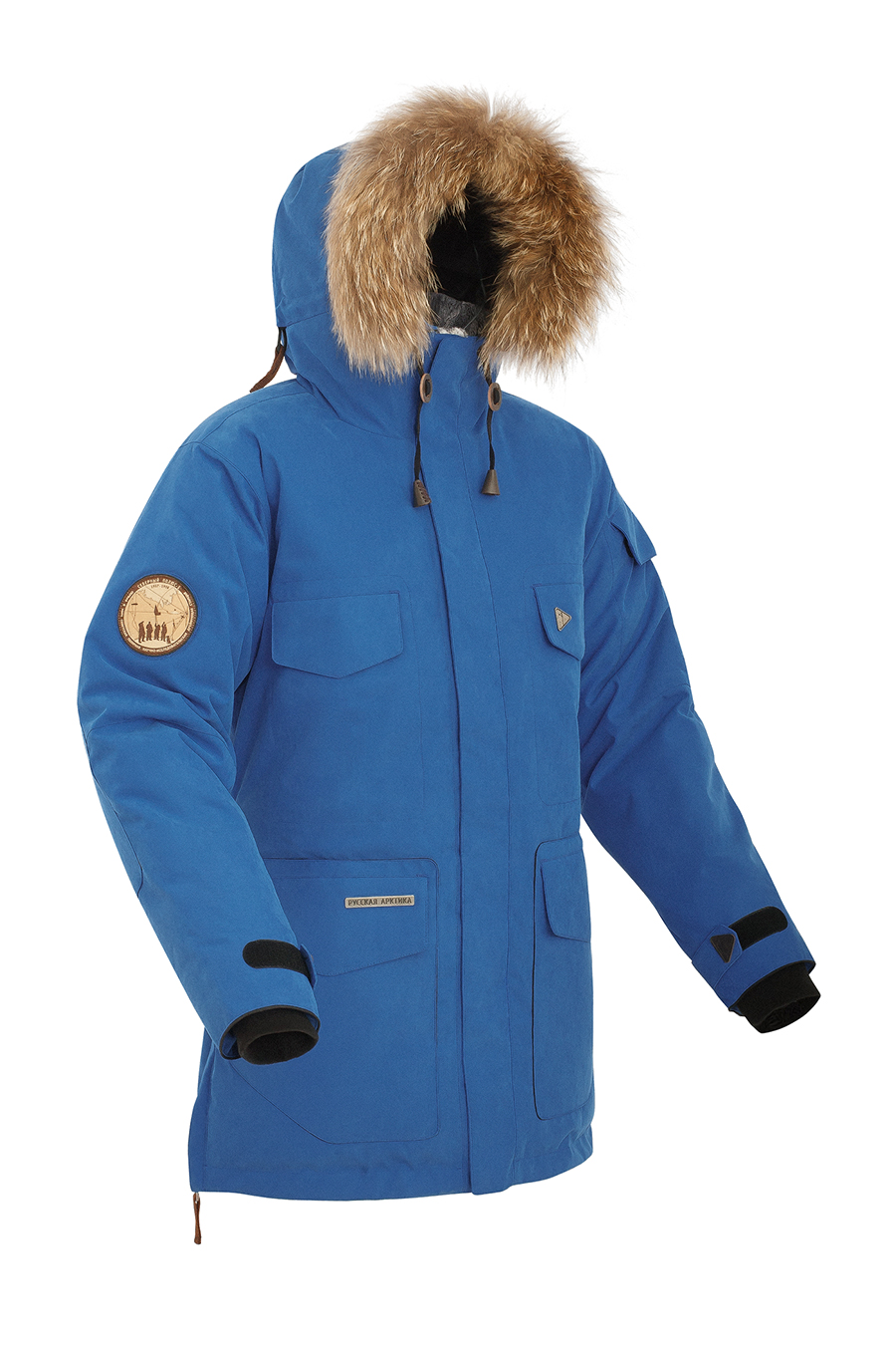 Купить Куртка пуховая BASK TAIMYR СИНИЙ ROYAL, Компания БАСК