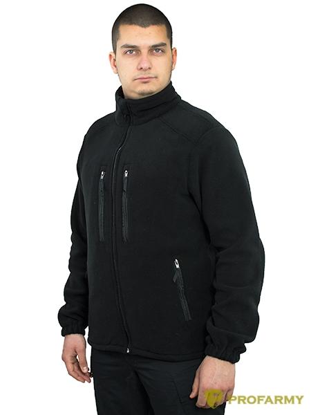 Куртка HUSKY-2 PF флисовая черный, Куртки из Polartec и флиса - арт. 1052260330