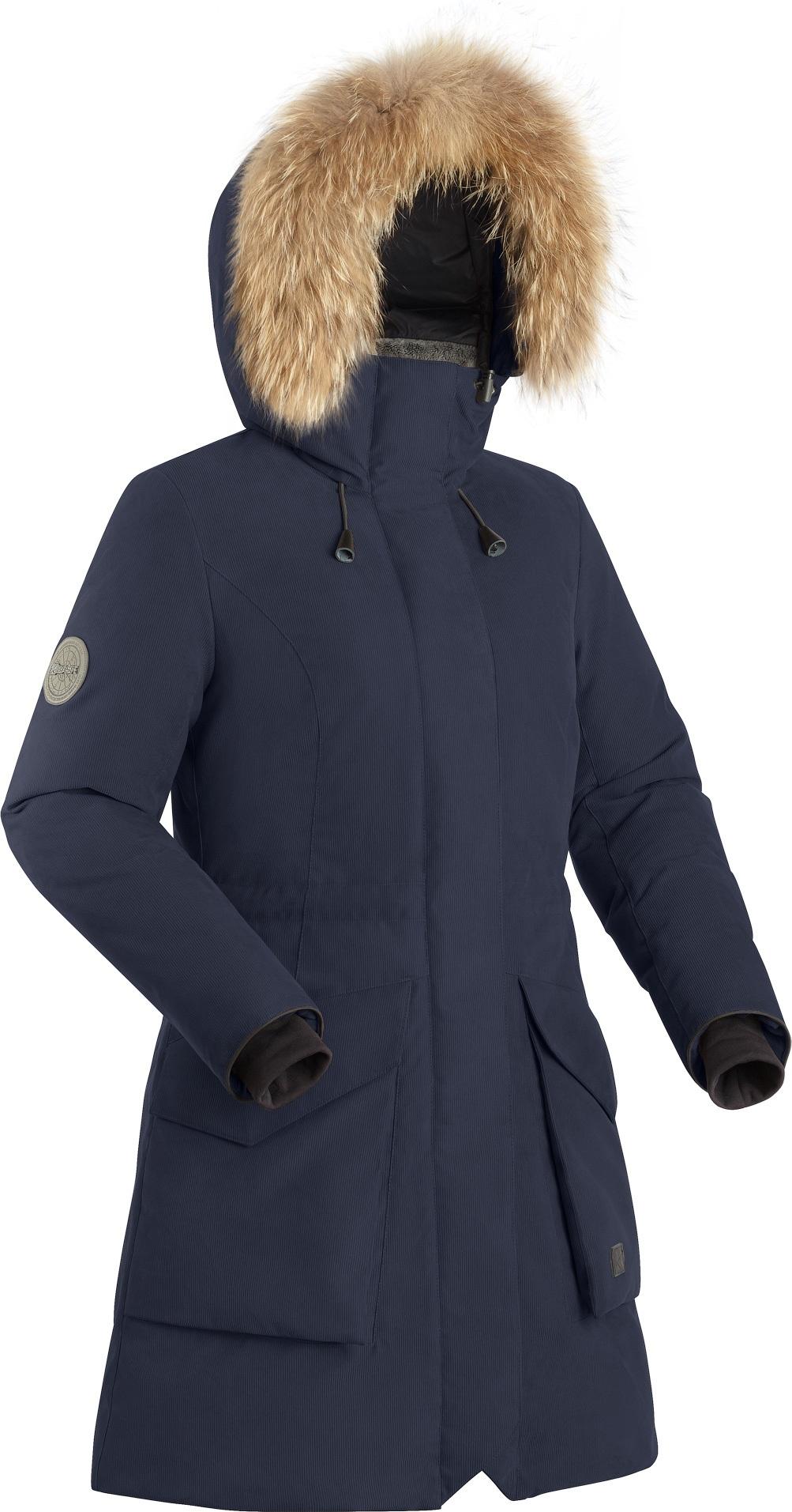 Пальто пуховое женское BASK VISHER темно-синие, Пальто - арт. 1132500409