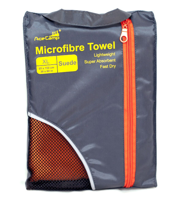 Полотенце из микрофибры Microfibre Towel Suede XL, 5184, Туалетные принадлежности - арт. 816340398