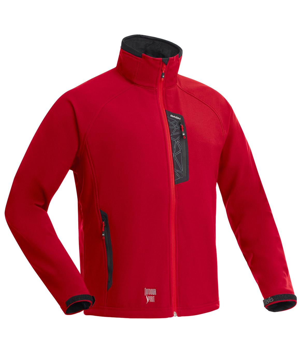 Куртка BASK PANZER V5 красная, Куртки из Polartec и флиса - арт. 994700330