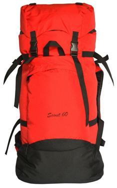 Рюкзак Скаут 60л цвет красный, Рюкзаки для горных лыж и сноуборда - арт. 405040286