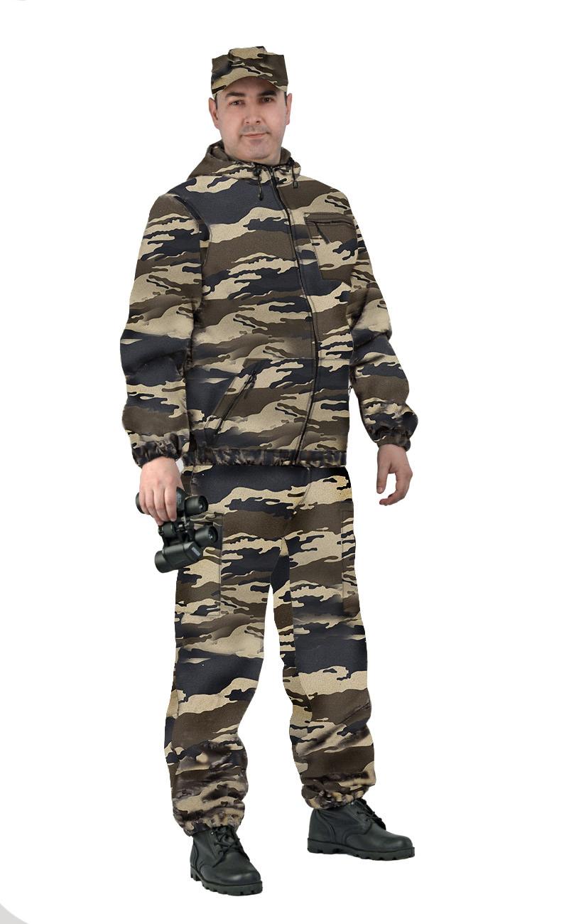 Костюм мужской Турист 1 летний, камуфляж, ткань грета Вихрь ХАКИ, Летние костюмы - арт. 1032700260