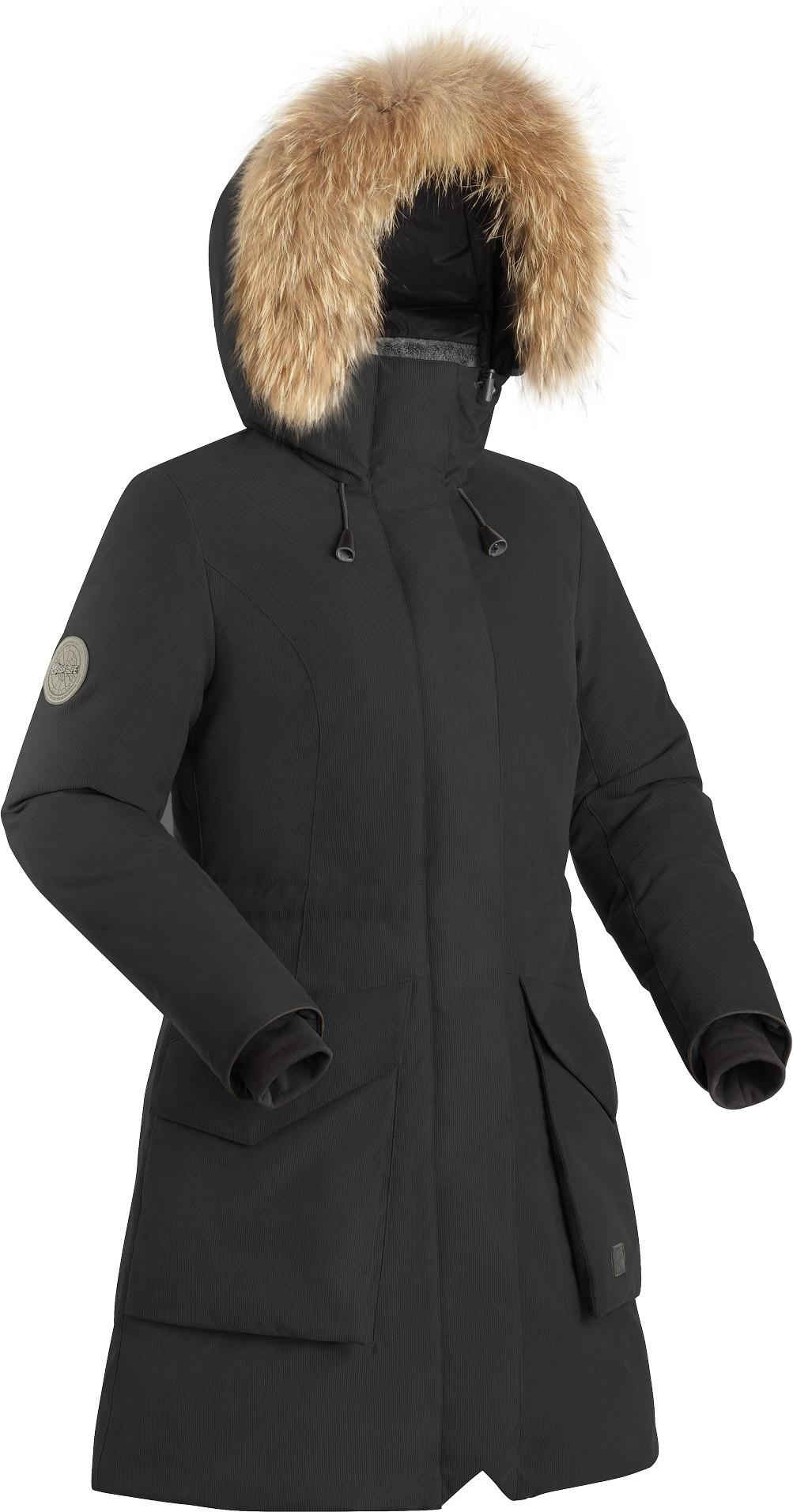 Пальто пуховое женское BASK VISHER черное, Пальто - арт. 1132510409