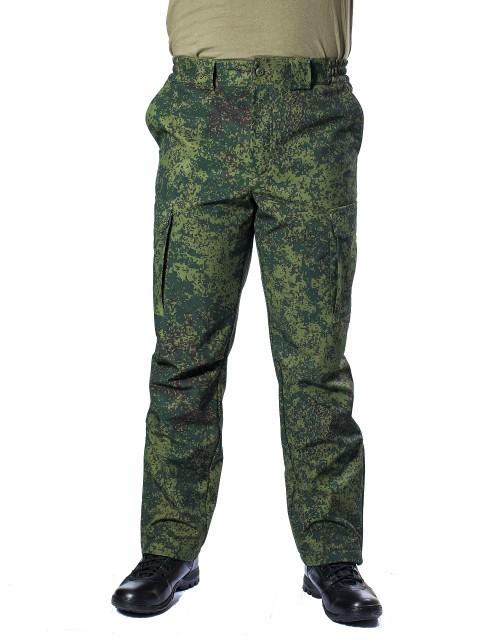 Брюки МПА-28 (ткань Софтшелл), камуфляж зеленая цифра - артикул: 320910346