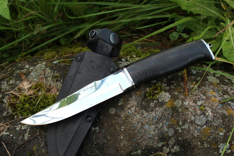 Нож Ш-5 Барс белый, кожа, Ножи - арт. 912840159