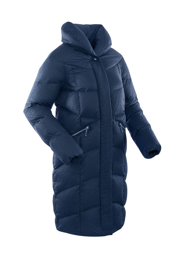 Пальто пуховое женское BASK LUNA темно-синее, Пальто - арт. 971220409