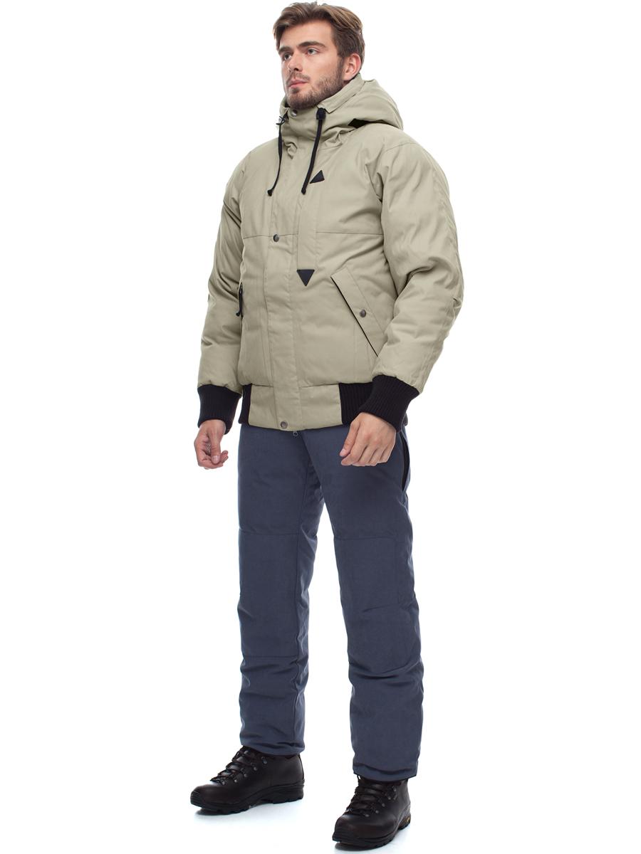 Купить Куртка пуховая мужская BASK TOBOL бежевый, Компания БАСК