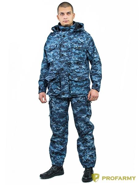 Костюм Смок-4 Softshell цифра МВД, Тактические костюмы - арт. 1051830259