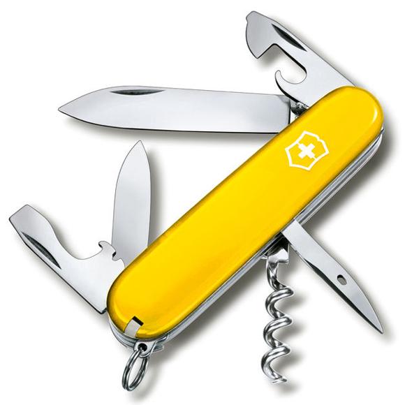 Купить Нож перочинный Victorinox Spartan (1.3603.8R) 91 мм 12 функций желтый картонная коробка