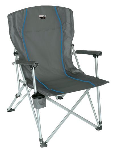 Купить Кресло Malaga серый/голубой, 44120, High Peak