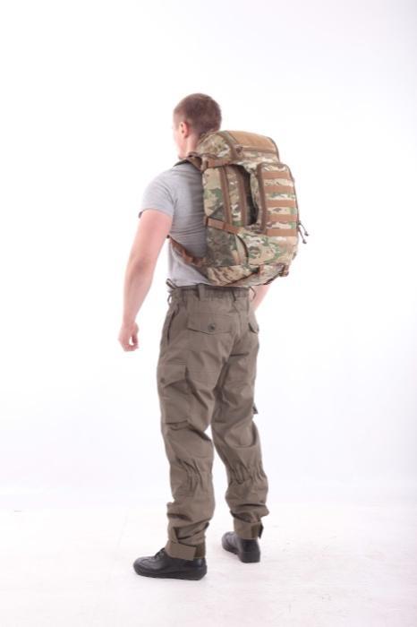 Рюкзак KE Tactical Sturm 40л Cordura 1000 Den multicam со стропами coyote, Прочее - арт. 990640199
