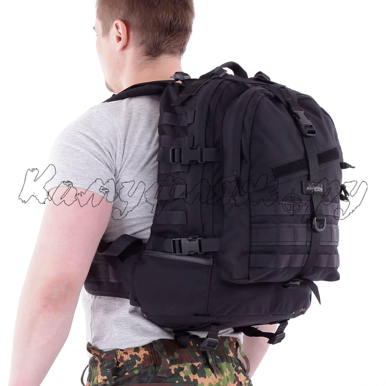Рюкзак Kiwidition Ekara 46 л 1000 den черный, Тактические рюкзаки - арт. 1011780264