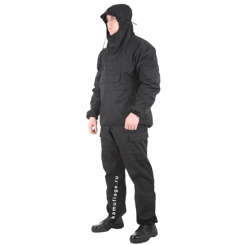 Костюм Горка-4 анорак рип-стоп черная, Куртки - арт. 983080156